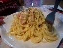 (25)初めてスパゲティ『カルボナーラ』を作り直す