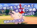 【ポケモン剣盾】「ゆびをふる」のみでポケモン【Part01】(みずと)