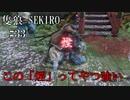 【隻狼-SEKIRO: SHADOWS DIE TWICE-】第三十三回 この「煙」ってやつ強い