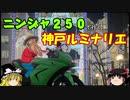 【ニンジャ250R】神戸ルミナリエを見に行くショートツーリング【ゆっくり車載】