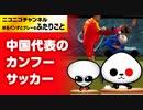 衝撃!サッカー日本代表対中国代表でのカンフーサッカー!