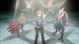 Battle in Kalos XY編