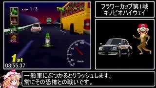 マリオカート64 150cc All Cups (No Skips) RTA 43分10秒13 Part 1/2