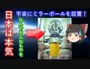 【ゆっくり解説】日本の宇宙開発の歴史 その17 宇宙ミラーボール設置計画!いまも現役なんですよ!