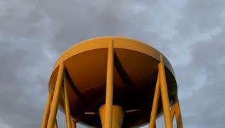 2019年12月18日2枠目 地球防衛軍に出てきそうな巨大給水塔があるらしい