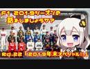 【紲星あかり】F1 2019シーズンの話をしましょうか?(終)Rd...