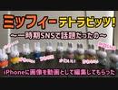 SNSで話題になったミッフィー テトラビッツマスコットのインスタ映えしそうな画像をiPhoneに動画として編集してもらった