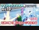 """【フォートナイト】ウィンターフェストチャレンジ十日目""""石炭の塊・・・"""""""