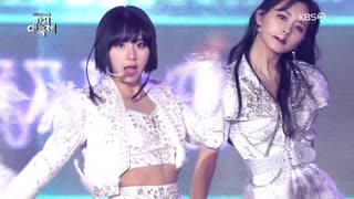 TWICE-KBS歌謡祭 Breakthrough + Feel Spe