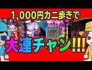 カニカニ舞闘会【#011】パチンコを千円ずつカニ歩いたら...