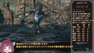 Bloodborne カンストオールボスノーダメージRTA 1時間46分1秒(2/3)