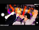 【MMD刀剣乱舞】ろきろきのろっくんろーる!【むっちゃんときわんばくん】