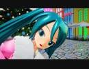 【初音ミク】 振袖ミク くすりすく 1080p60fps Ray-MMD 【MMD】【MikuMikuDance】