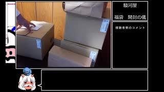 ゆっくり福袋開封動画 part1 駿河屋PS1福袋
