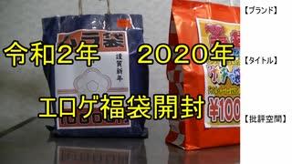 【2020年エロゲ福袋】エロゲ福袋開封【実況】