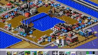 シムシティ2000で街を作ってみた(未完成)