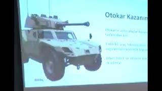 トルコは四輪装甲車に90mm砲を積む気らしい(無音動画)