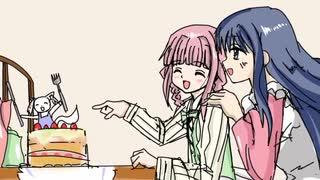 [手描き]マギレコでFRUITS CANDYパロ