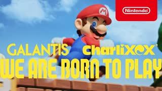 【SUPER NINTENDO WORLD™】Galantis ft. Charli XCX - WE ARE BORN TO PLAY [Music Video]