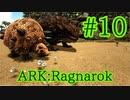【ARK Ragnarok】素材集めのプロ、モロクトカゲとドエディクルスをテイム!【Part10】【実況】