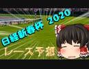 ゆっくりの競馬予想 ~2020日経新春杯 予想~