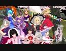スカーレット姉妹と霊夢&魔理沙で《新幕》桜降る代に決闘を(6話)