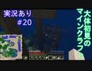 大体初見のマインクラフト #20 【実況あり】