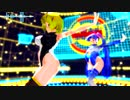 【MMD】らぶ式リンKKC&らぶ式ミクKKCで「Gimme×Gimme」