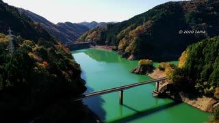 たまに訪れる今市ダム 2019 空撮   栃木県日光市