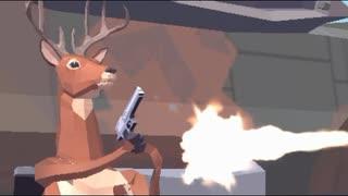 ごく普通の鹿になったので銃乱射します【DEEEER Simulator】