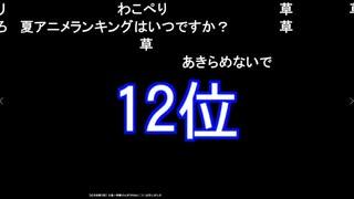 独断と偏見の2019年秋アニメランキング