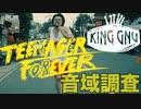 King Gnu/Teenager forever【歌唱力】【音域調査】