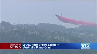 【オーストラリア】空中消火活動に当たっ