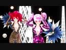 【重音テト 小春音アミ】Distorted Princess【MMD】