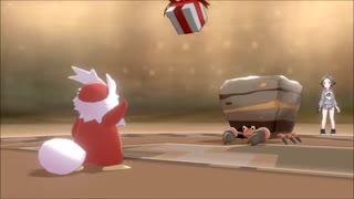 【ゆっくり実況】ポケモン剣盾をデリバード1匹プレゼント縛りでクリアする part5