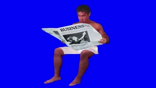 新聞を使って尾行する先輩BB + 使用例