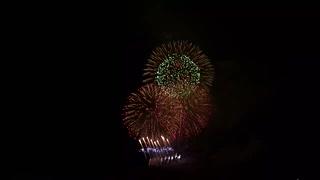 2020.1.25 (奈良) 令和最初の若草山焼きの大花火