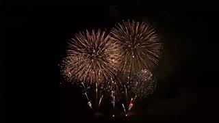 2020.1.25 (奈良) 令和最初の若草山焼きの大花火・後半