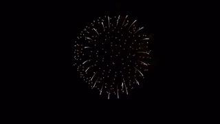 2020.1.25 (奈良) 令和最初の若草山焼きの大花火・前半