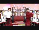 【MMDあんスタ】撫子色ハート【蓮巳と鬼龍】