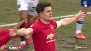 《19-20FAカップ》 [4回戦] トレンメア・ローヴァーズ (3部) vs マンチェスター・ユナイテッド