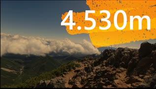"""【ゆるふわ】4.530m厳冬期単独無呼吸リアル登山アタック00""""19"""