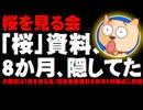【桜を見る会】内閣府が招待者数の内訳資料を8か月間隠してたことが判明