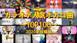 【最新版】カラオケ人気ボカロ曲TOP100!
