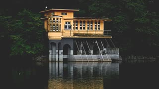 2020年01月29日1枠目 廃墟たたずむ鎌北湖の水が抜かれているらしい