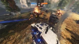 【Titanfall2】戦場レ〇プ!パイロットと