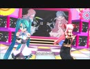 【MMD・ミク+リン+レン+他】Blessing
