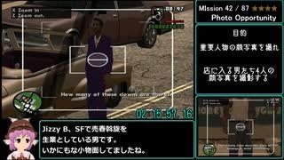 【RTA】GTA:San Andreas 5:42:16 参考記録 Part6/15