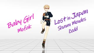 【MMD】 Baby Girl,  Lost in Japan 【モーショントレース】