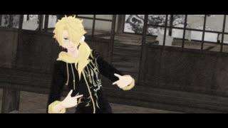【MMD刀剣乱舞】緑と金【御手杵/獅子王】